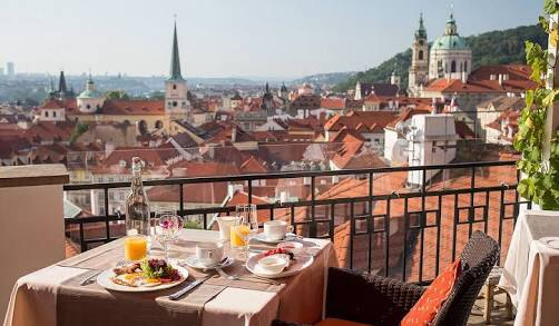 Prague Dinner Date