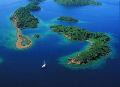 12 island tour on a gulet (traditional Turkish sailing boat)