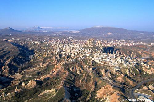 Flights from Antalya to Cappadocia