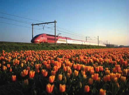 Train tickets from Amsterdam to Brussels