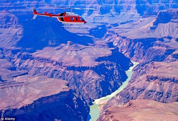 The Grand Canyon Helicopter Tour