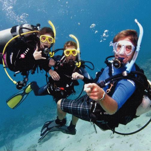 We love scuba diving - scuba trip for two