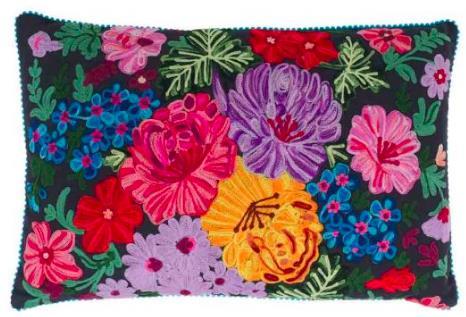 Stitch Flower Cushion