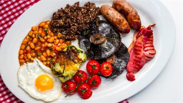 Big English Breakfast, England