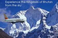 Delhi to Paro flight