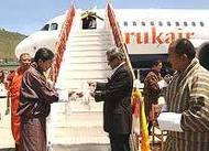 Paro to Kathmandu flight