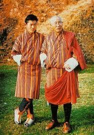 A Gho (Traditional Bhutanese clothing- Male)