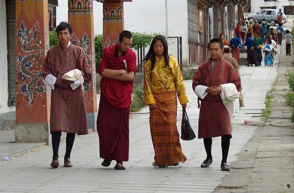 A Kira (Traditional Bhutanese clothing- Female)