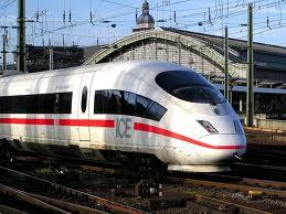 Berlin to Prague train ride