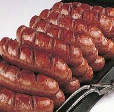 A weeks supply of Bratwurst
