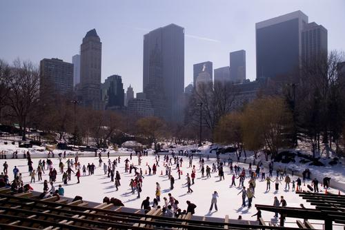 Iceskating in Central Park