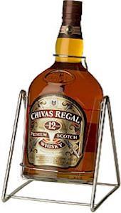 Bottle of Chivas Regal Whiskey