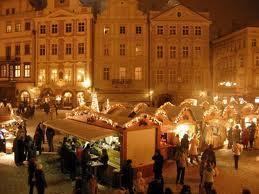 Shopping at the Christmas markets
