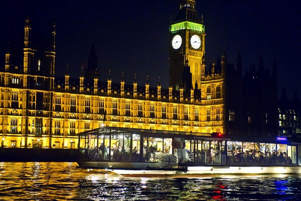 London Show Boat Dinner Cruise