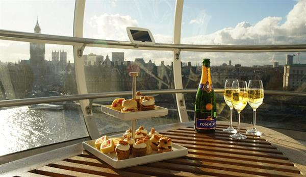 London eye champagne experience