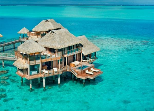 Over Water Bungalow - Hilton on Moorea