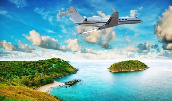 Flights To Our Island Destination!