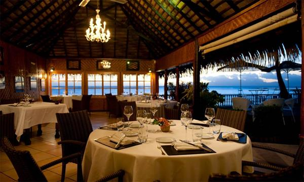 5 course taster menu for two at Le Coco's, Puna'auia, Tahiti