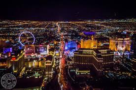 Helicopter Flight over Vegas Strip