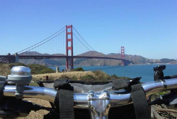 Bike tour including Golden Gate Bridge