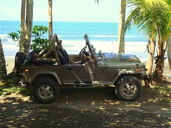 Jeep Hire in Costa Rica