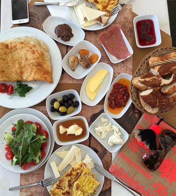 Traditional Breakfast in Istanbul