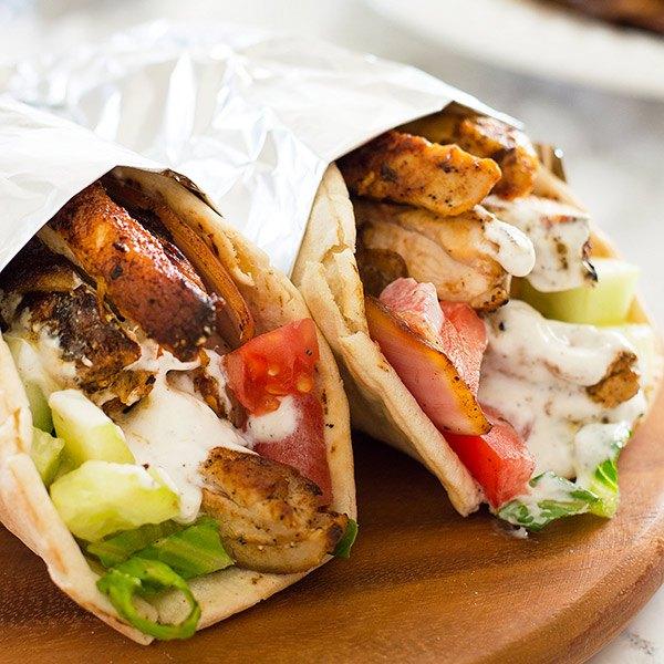 Shawarma street food