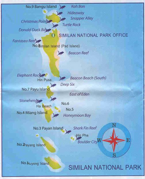 Full-Day Similan National park by Speed Boat from Phuket