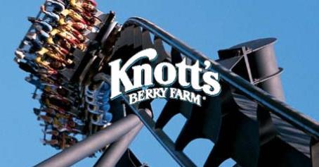Knotts Berry Farm Themepark Los Angeles