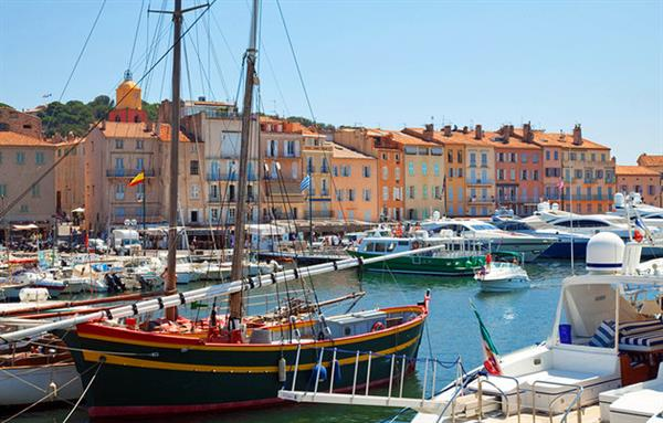 Staying and playing in St Tropez