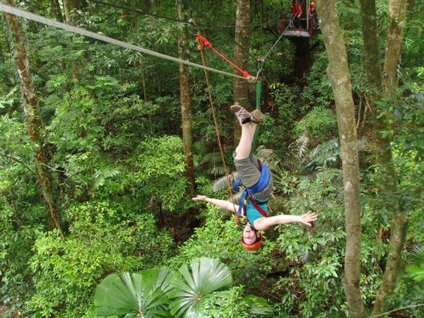 Jungle Surfing Canopy Tour - Meg and Ben's Tickets