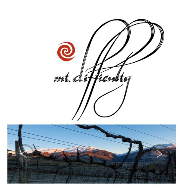 Wine Tasting & Platter at Mt Difficulty Winery