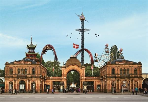 Rides & Rollercoasters at Tivoli Gardens