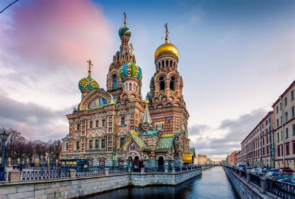 Hey, St Petersburg