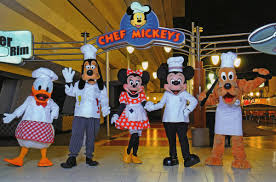 Dining at Chef Mickey's