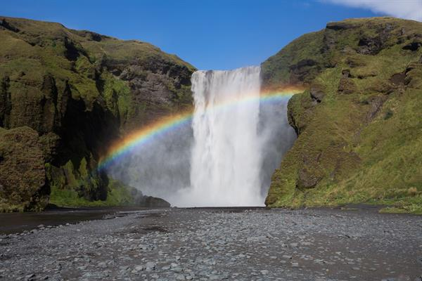 Skogafoss Waterfall walking tour