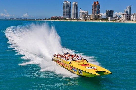Miami Speedboat Ride