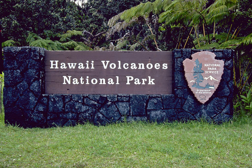 Entrance Fee to Volcano National Park