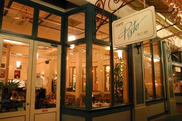 Dinner for 2 at Cafe Pesto