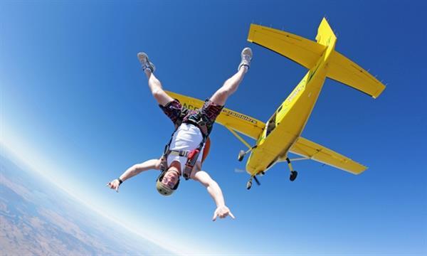 Air Asia Parachute