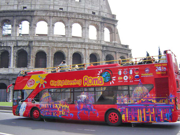Rome Hop-on-Hop-off Bus