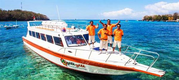 Return Fast Boat Ride to Gili Islands