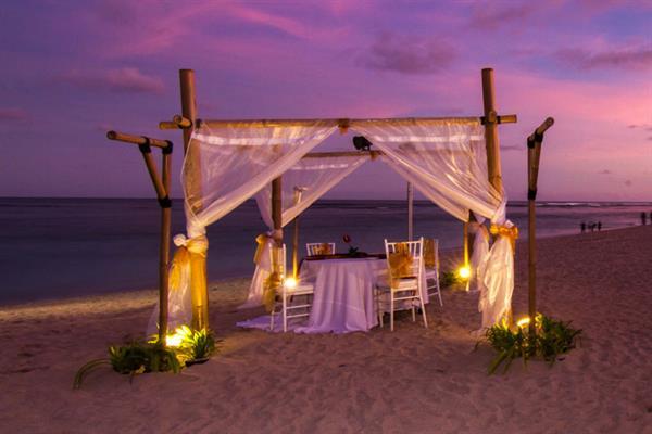 Romantic Dinner on a secluded beach