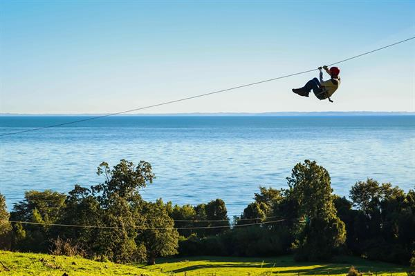 Zip Lining in Cajon Del Maipo for two