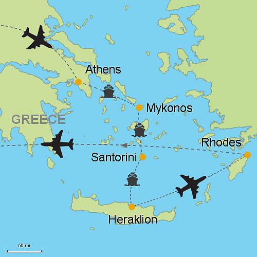 Greek Islands Flights