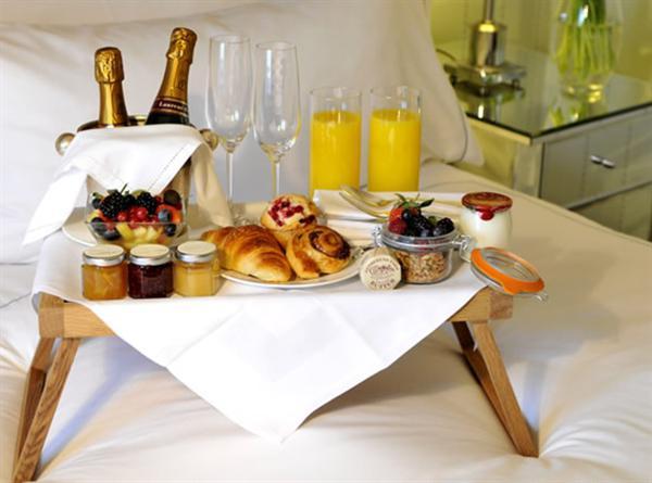 Lazy Hotel Breakfast