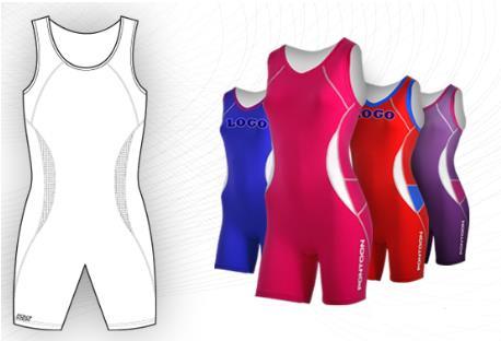 Custom rowing suits.