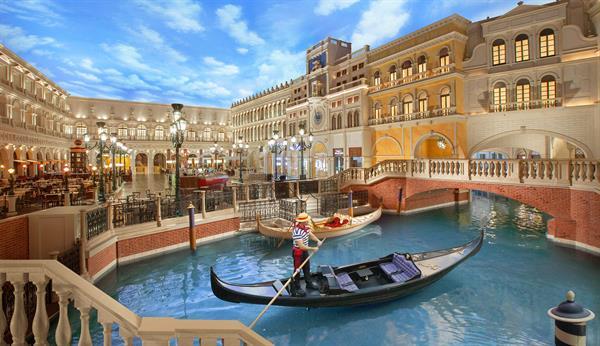 Gondola Ride at the Venetian Las Vegas