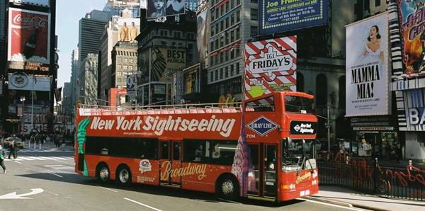 Hop-On, Hop-Off Bus Tours - New York