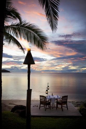 Private Oceanfront Dinner